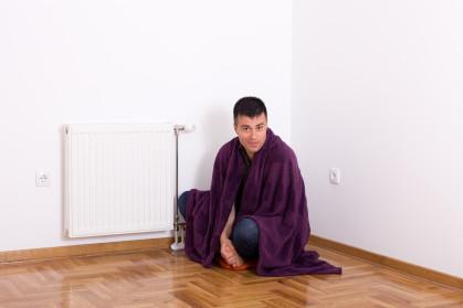 cold apartment radiator
